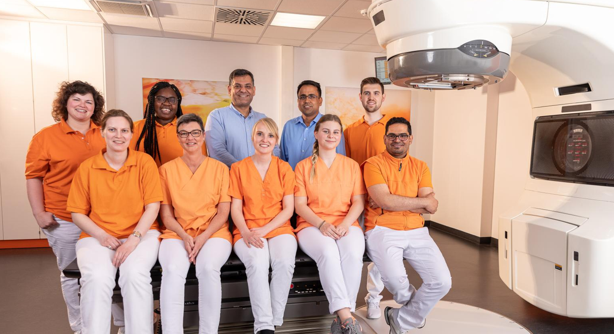 Team Strahlentherapie Tauber-Franken